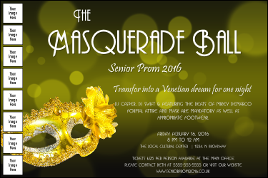 Masquerade Ball 2 Image Poster
