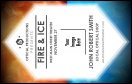 Fire and Ice VIP Event Badge Medium
