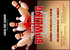 Bowling League Club Flyer