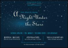 star theme club flyer