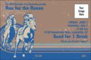 Horse Racing Drink Ticket 002