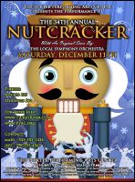 Nutcracker Ballet Flyer