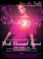 Breast Cancer Bokeh Flyer