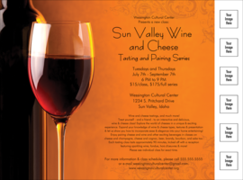 Wine Logo Flyer