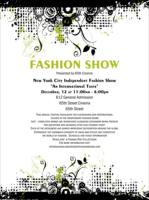 fashion show invite template
