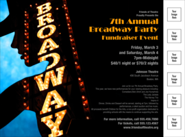 Broadway Flyer with Image Upload