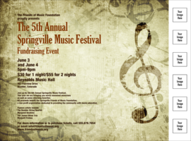 Music Festival 2 Flyer with Image Upload