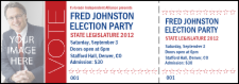 Modern Vote Event Ticket
