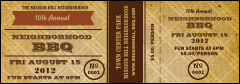 BBQ Vintage Event Ticket
