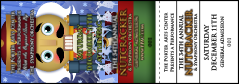 Nutcracker Ballet Event Ticket