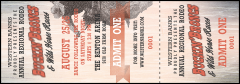 Bucking Bronco Rodeo Event Ticket