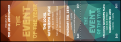 All Purpose Geometric Event Ticket