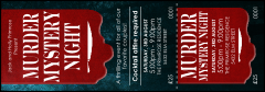Murder Mystery Event Ticket