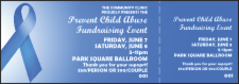 Blue Ribbon Event Ticket