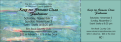 Nature Series - Trout Event Ticket