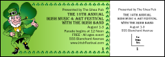 St. Patrick's Day General Admission Ticket 005