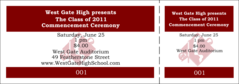 Graduation General Admission Ticket 003