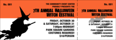Halloween Witch General Admission Ticket 001 (QT_GA_WS_204)