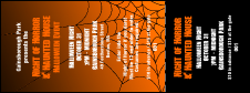 Halloween spider web General Admission Ticket 001