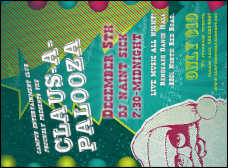 Claus-A-Palooza Invitation