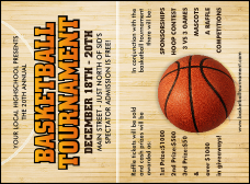 sporting event invitations tickets invitation printing