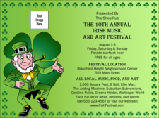 st patrick s day invitation