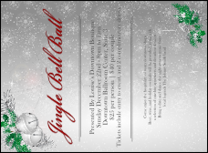 Jingle Bells Invitation