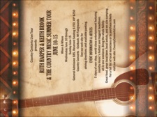 Music invitation templates invitation printing invitation for a country music concert stopboris Images