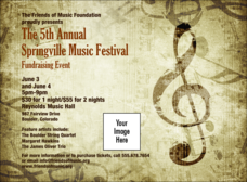Music Festival 2 Invitation