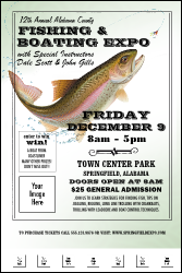 Fishing and Boating Expo Poster