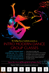 Dance Themed Poster and Flyer Designs | Poster and Flyer Printing