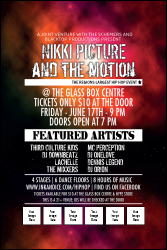 Galaxy Hip Hop Poster