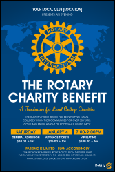 Rotary Mark of Excellence Poster