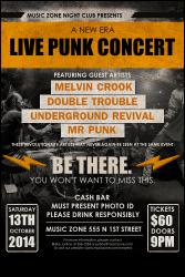 Punk Rock Flyer
