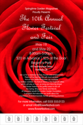 Red Rose Poster with Image Upload