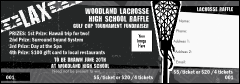 Lacrosse Stick Raffle Ticket