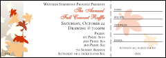 Fall Leaf Raffle Ticket 001