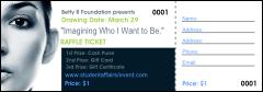Fashion Raffle Ticket Templates | Raffle Ticket Printing