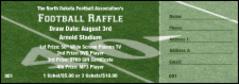 football raffle ticket 003