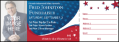 Patriotic Vote Raffle Ticket
