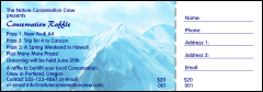 Nature Series - Mountain Raffle Ticket