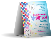 Autism Awareness Table Tent