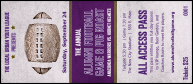 Football Purple VIP Pass