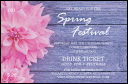 Spring Festival 2 Drink Ticket