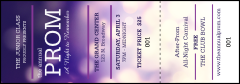 Abstract Lights Event Ticket