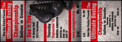 Boxing Gloves Reserved Event Ticket