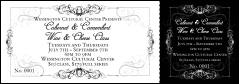 Black Tie Gala Event Ticket 0007
