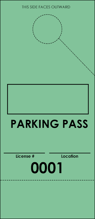Green Parking Plus Permit (100 pack)