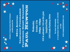 star theme invitation