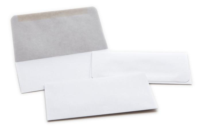 "#6 1/2 Envelope, 24lb White Wove, 6.25"" x 3.5"""